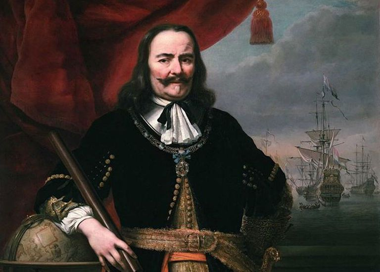 Lieutenant-Admiral Michiel de Ruyter by Ferdinand Bol, 1667