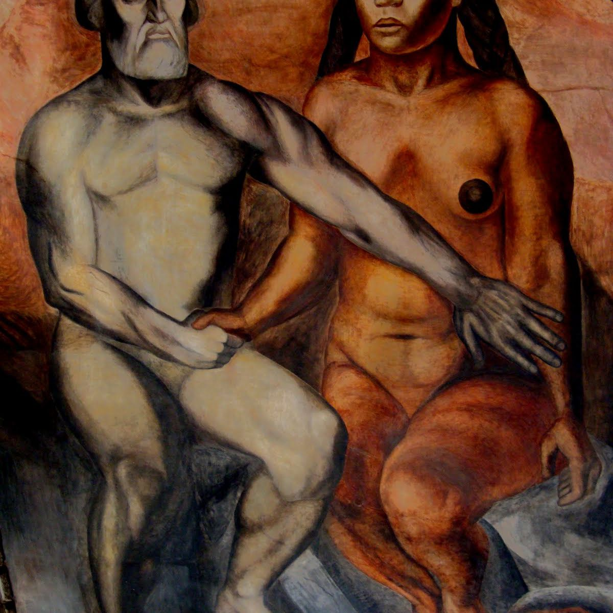 Malinche and Cortes