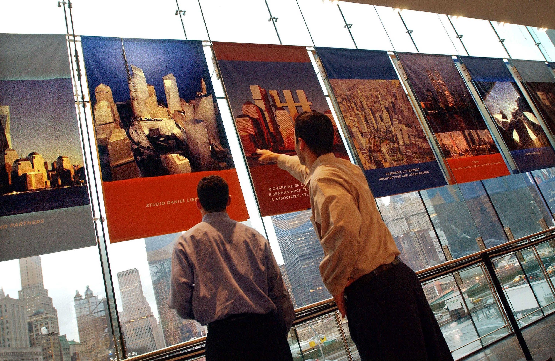 rebuilding the world trade center a photo timeline