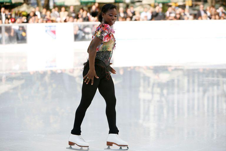 Surya Bonaly skating