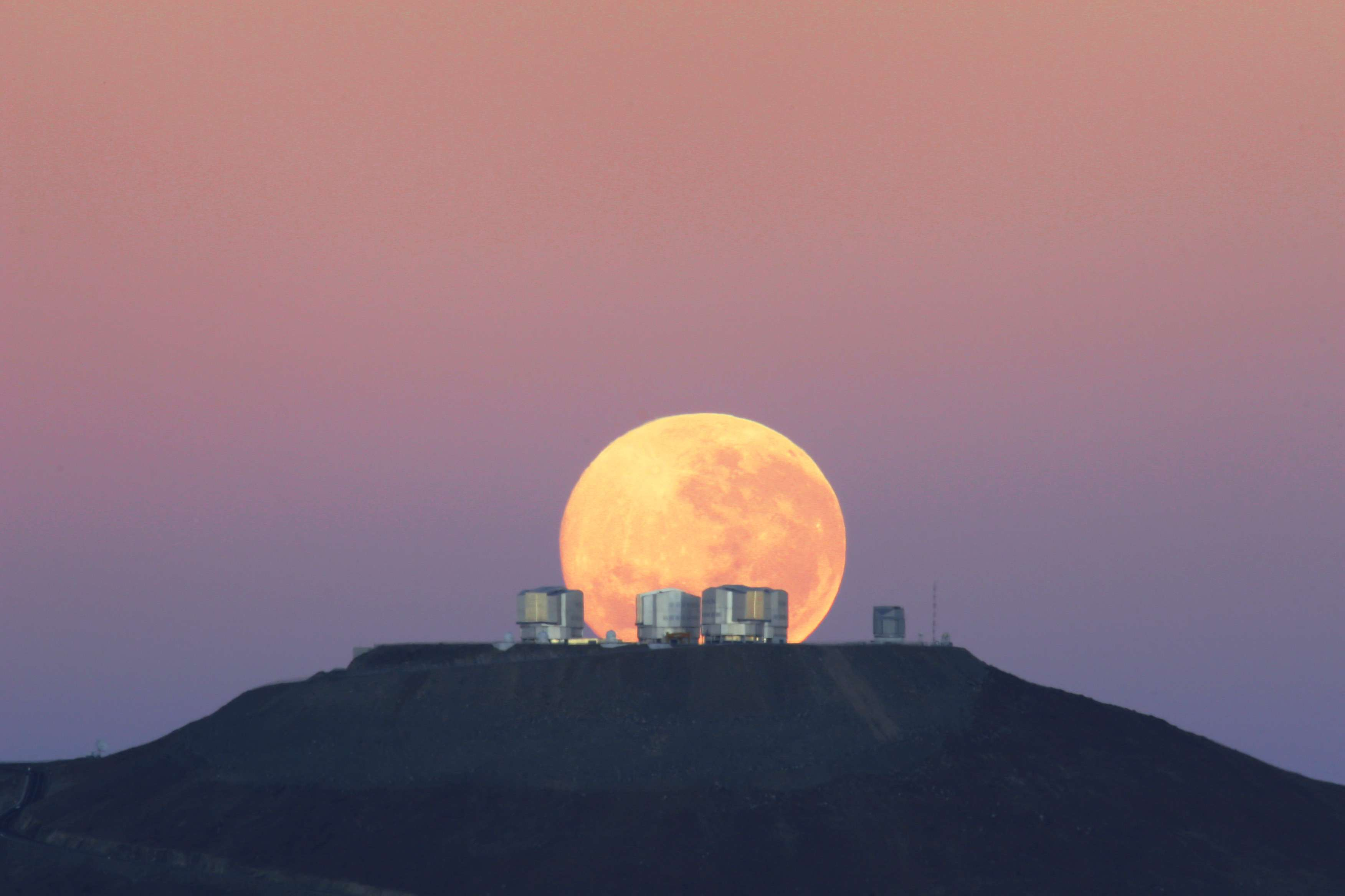 The VLT Observatory in Paranal, Chile.