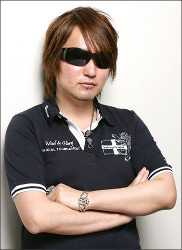 Tite Kubo, manga artist and creator of Bleach manga and anime.
