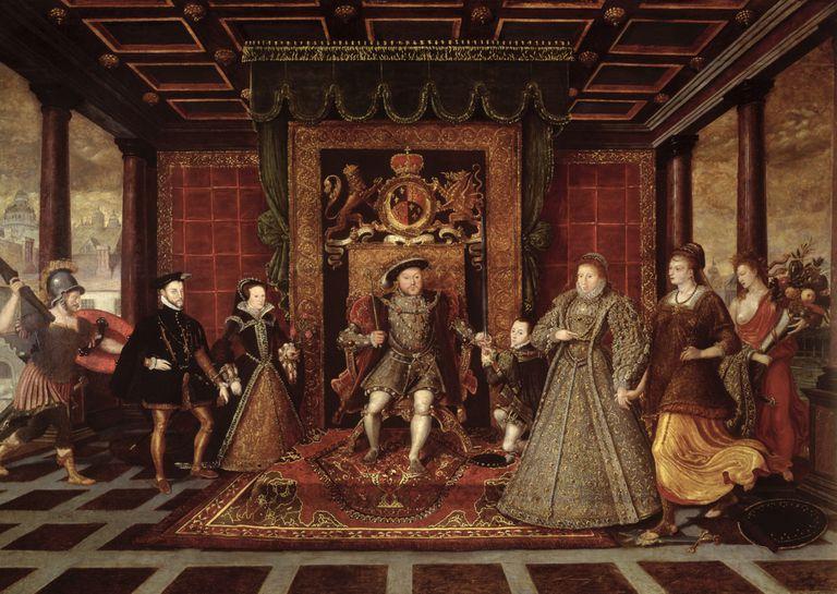 family of Henry VIII