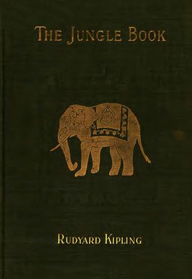The Jungle Book (1894) cover image, The Century Co.