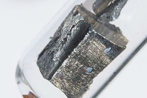 Neodymium is an example of a lanthanide element.