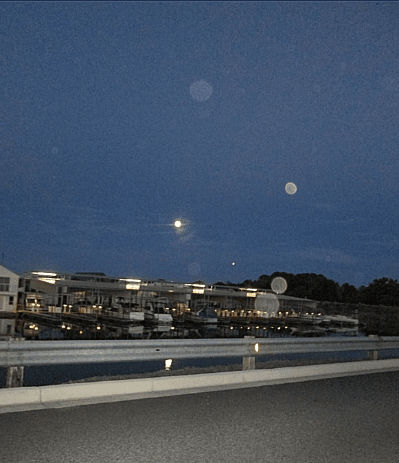 Multiple Orbs In Photograph