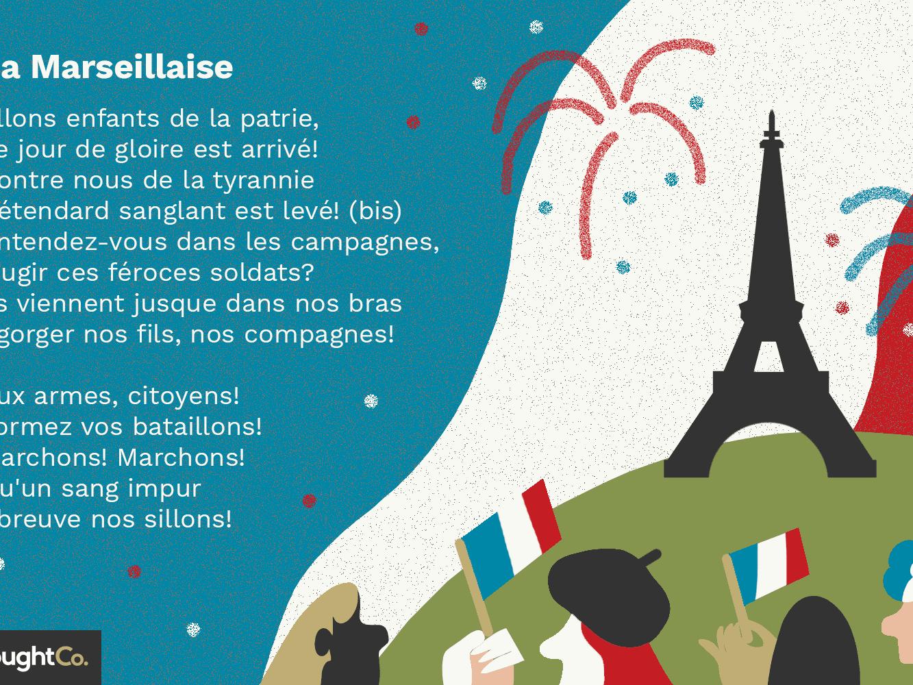 La Marseillaise Lyrics In French And English
