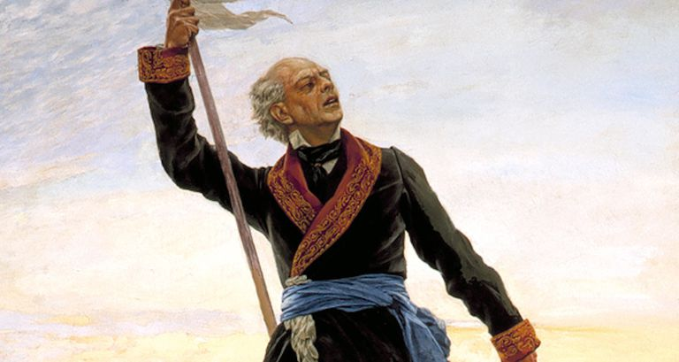 Painting of Father Miguel Hidalgo y Costilla