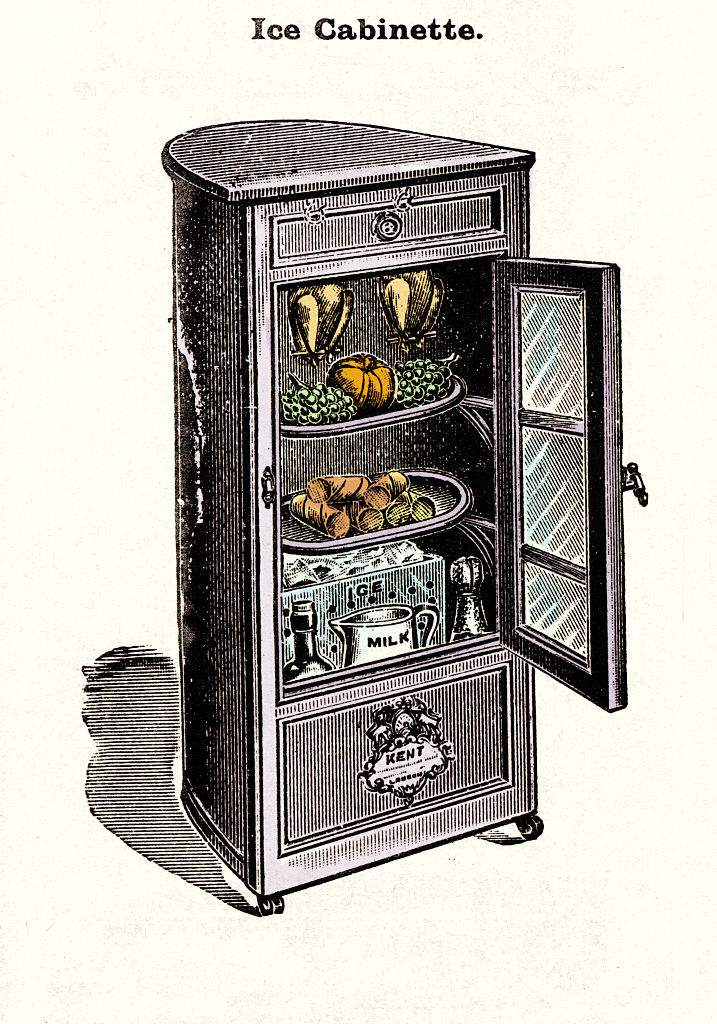 THE ANCESTOR OF THE FRIDGE
