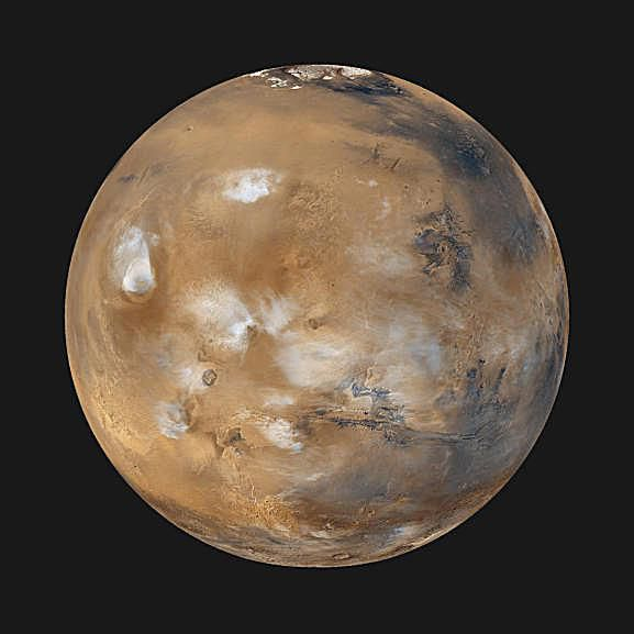Pictures of Mars - Mars Daily Global Image