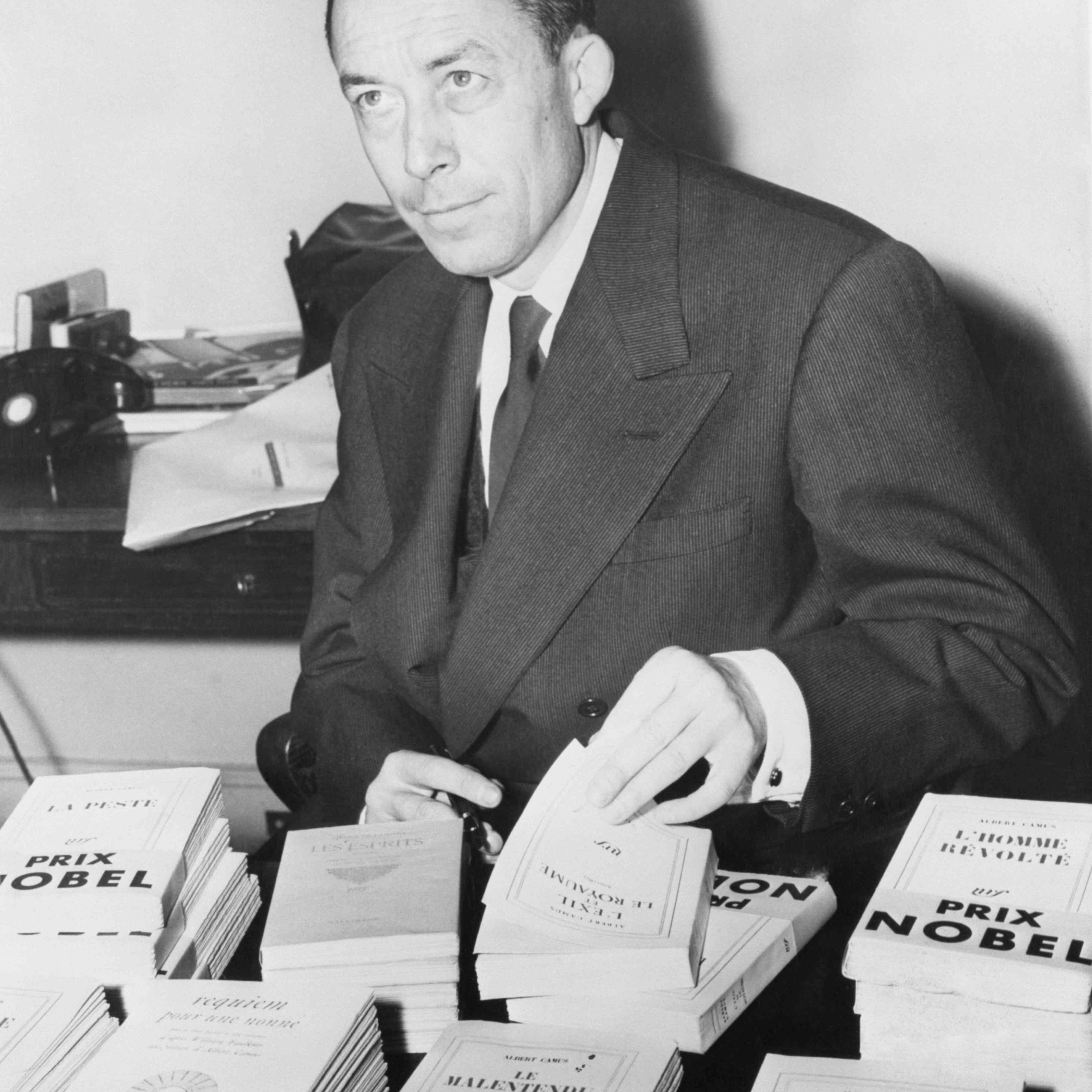 Libros de firmas de Albert Camus