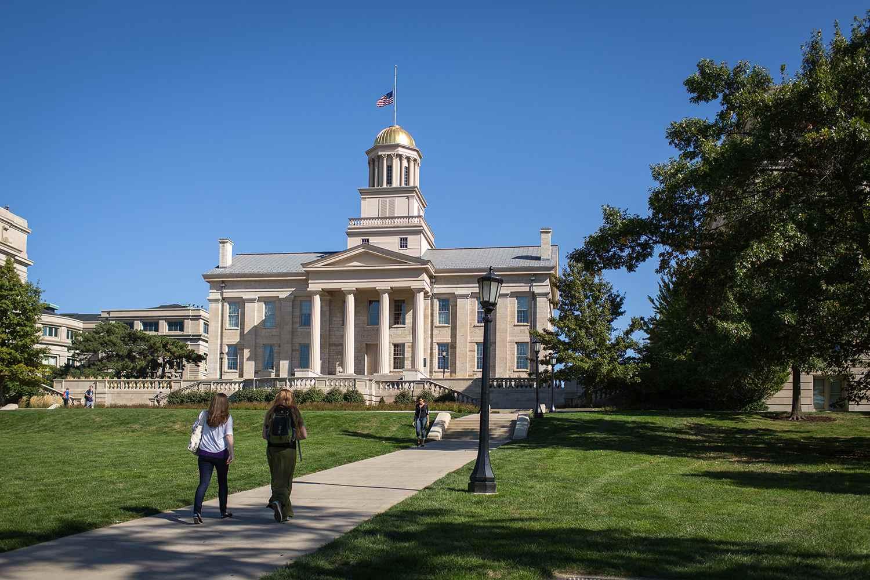 University of Iowa at Iowa City