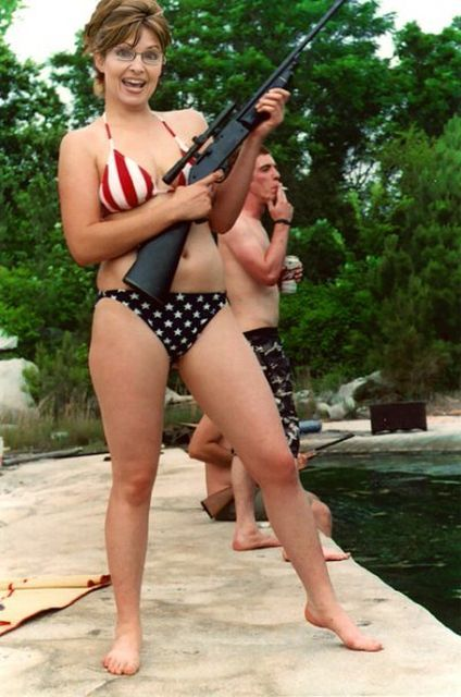 Sarah Palin in Bikini
