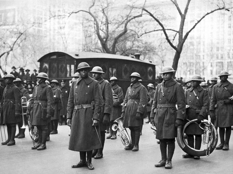 Image result for harlem hellfighters jazz europe