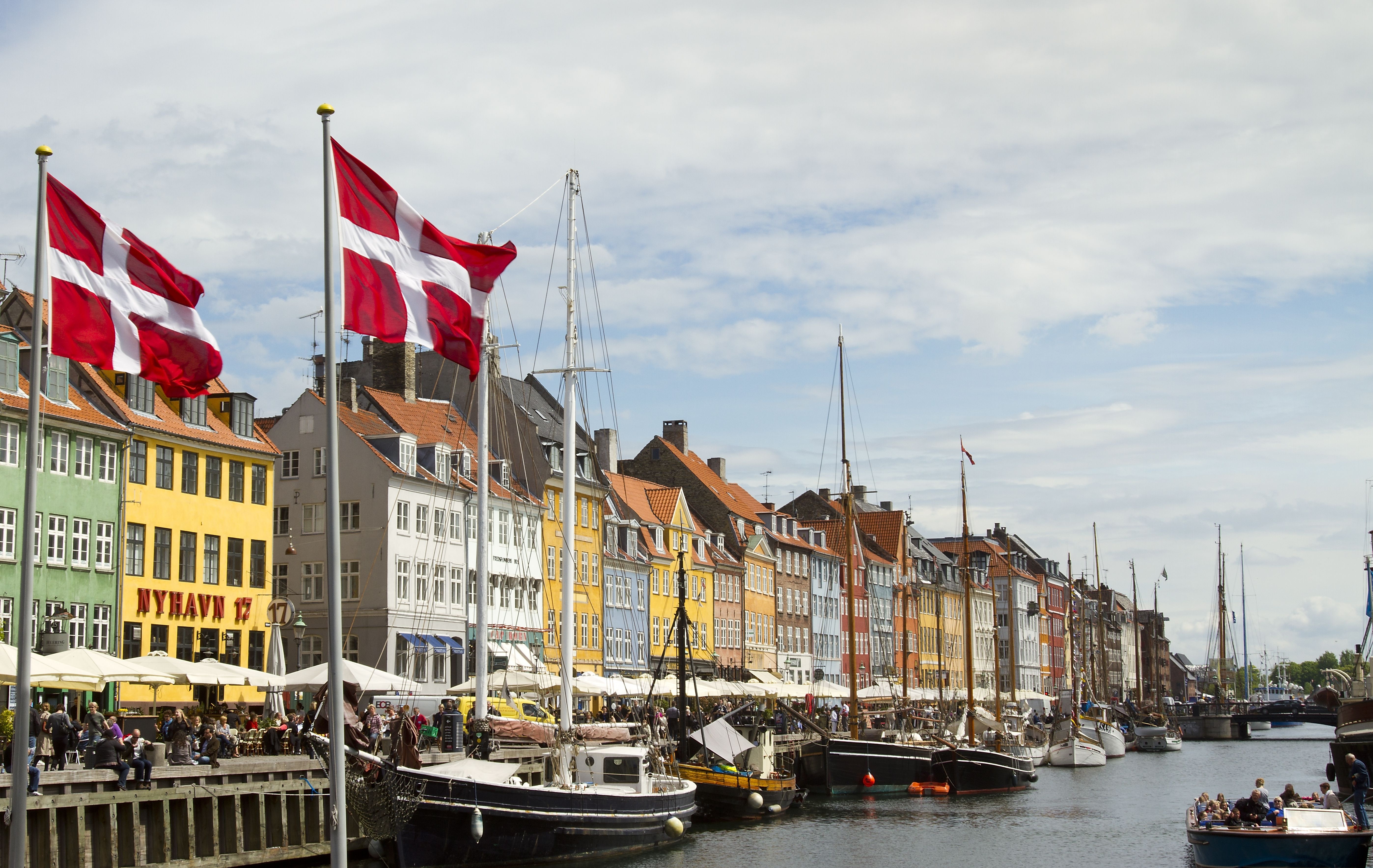 Nyhavn Harbor in Copehagen