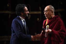 One would address the Dalai Lama as his Holiness