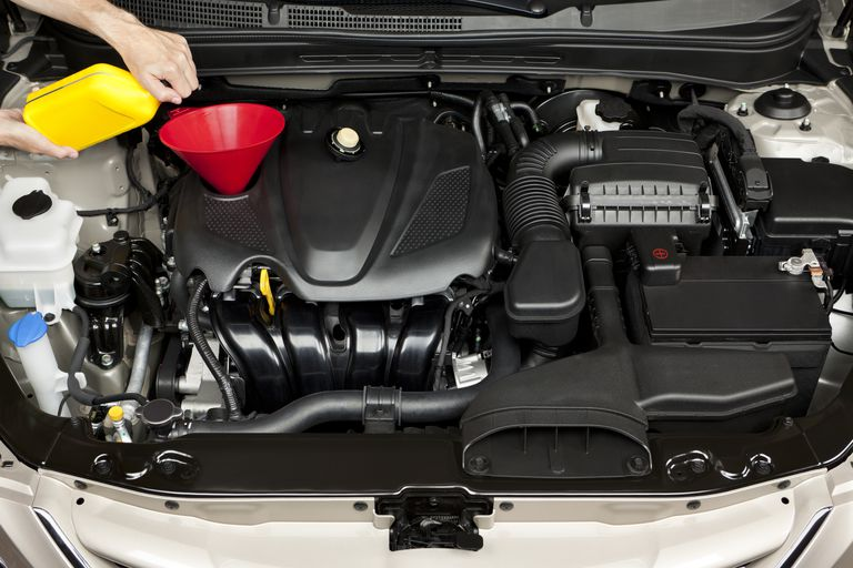 Adding Engine Oil