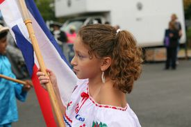 Children's Parade of Latin American Flags