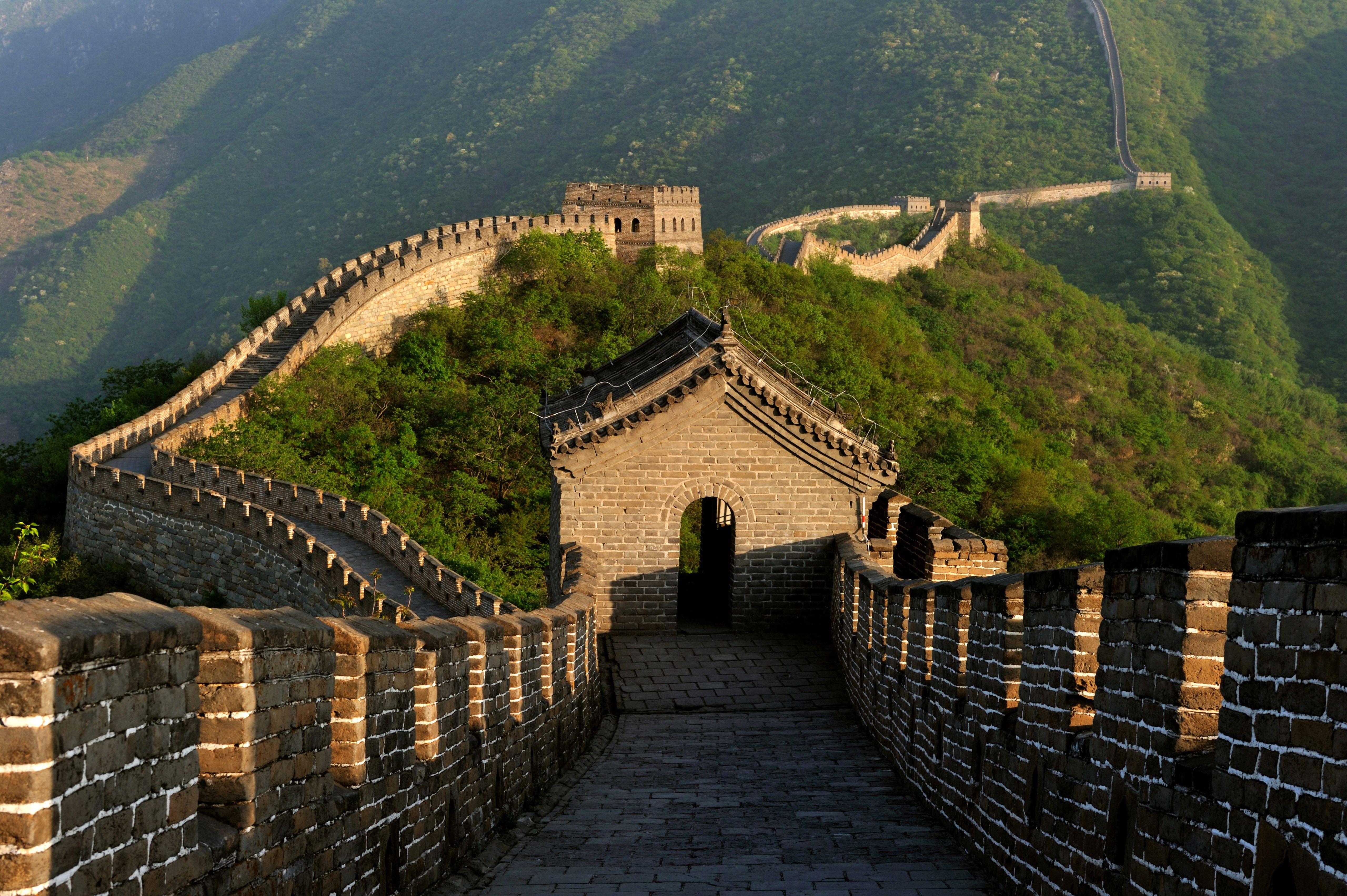 China, near Beijing, Great Wall of China , Mutianyu section