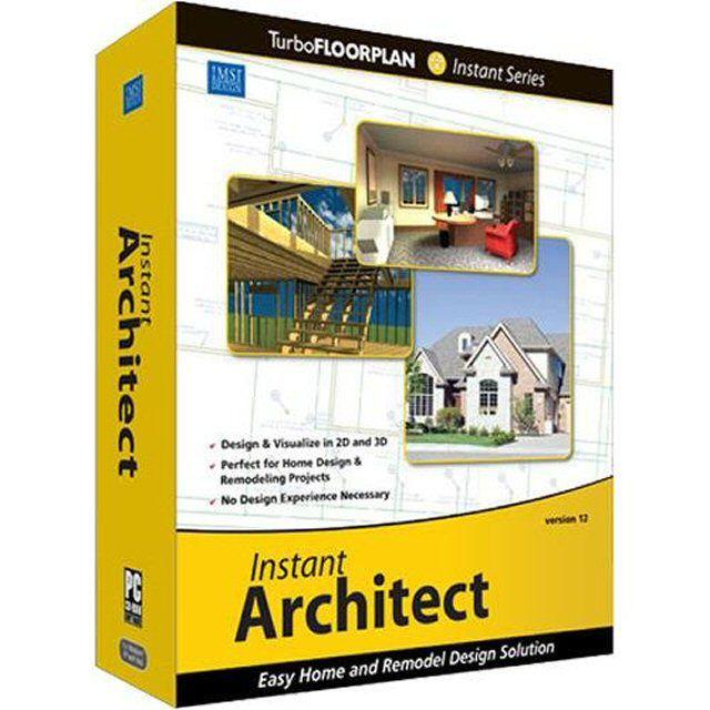 IMSI TurboFLOORPLAN Instant Architect - Architecture Software