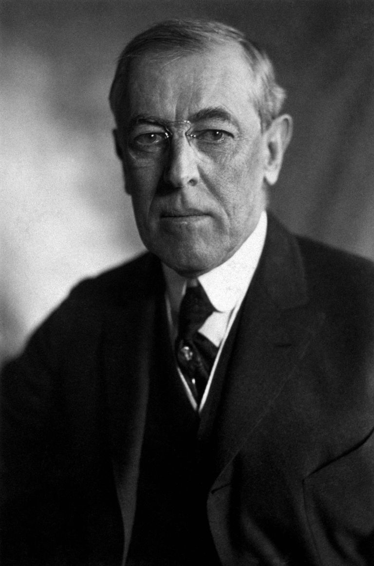 Woodrow Wilson, President of the United States of America.