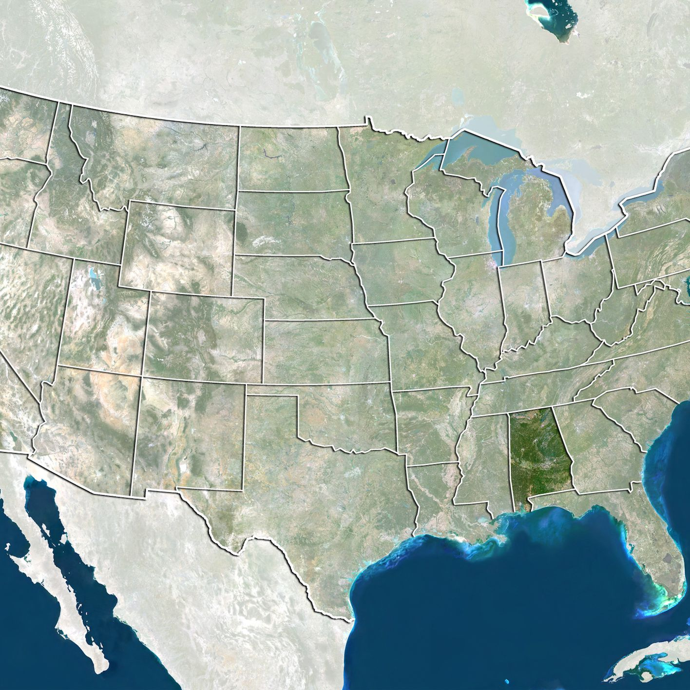 Picture of: Geography Of The Gulf Of Mexico Border States