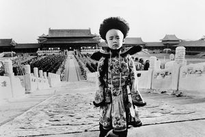 photo from The Last Emperor film set