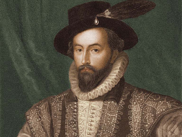 Illustration of Sir Walter Raleigh