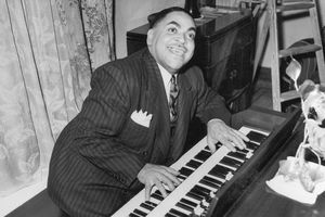 Jazz Pianist Fats Waller