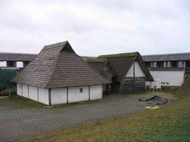 Heuneburg Hillfort - Reconstructed Living Iron Age Village
