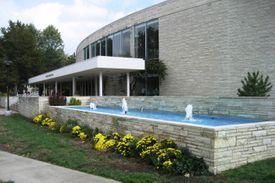 Fountain at Washburn University