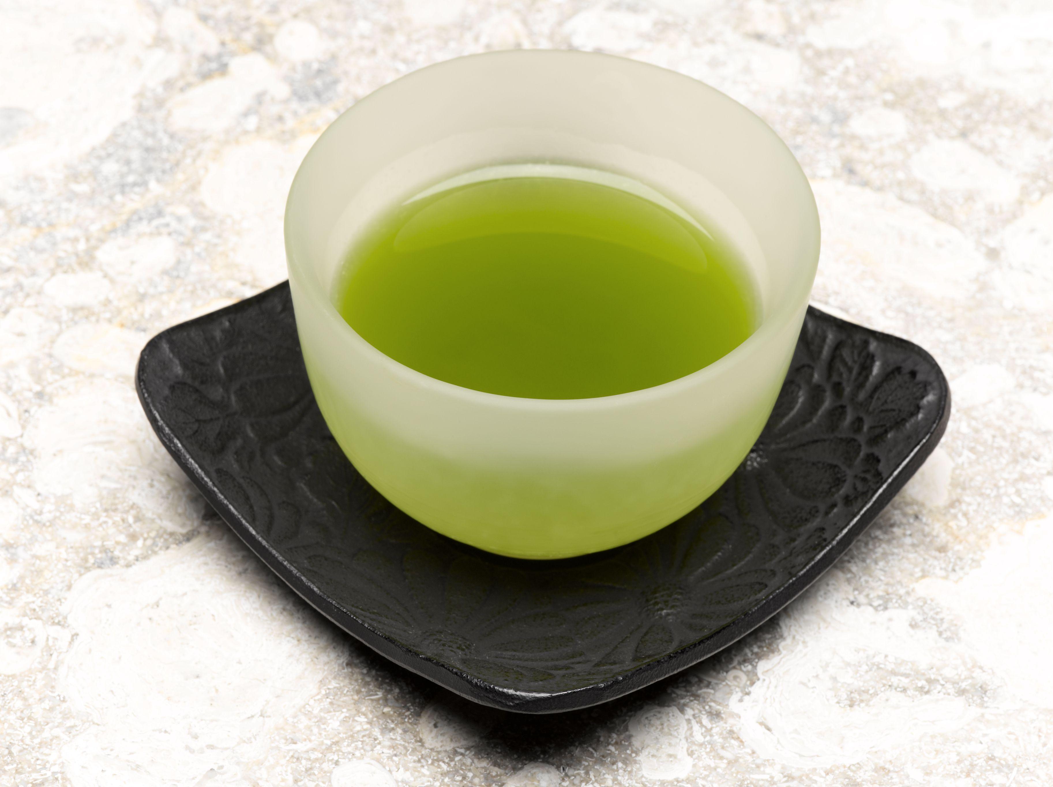 hur mycket koffein i grönt te