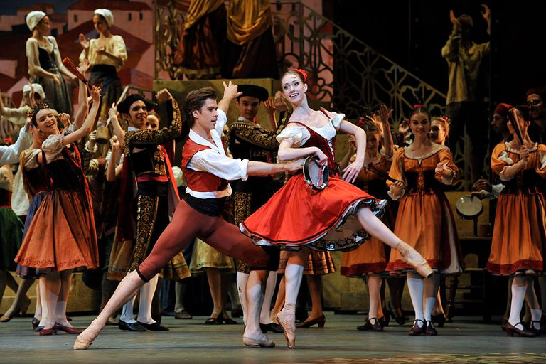 Ballet performance of Don Quixote by the Bolshoi Ballet