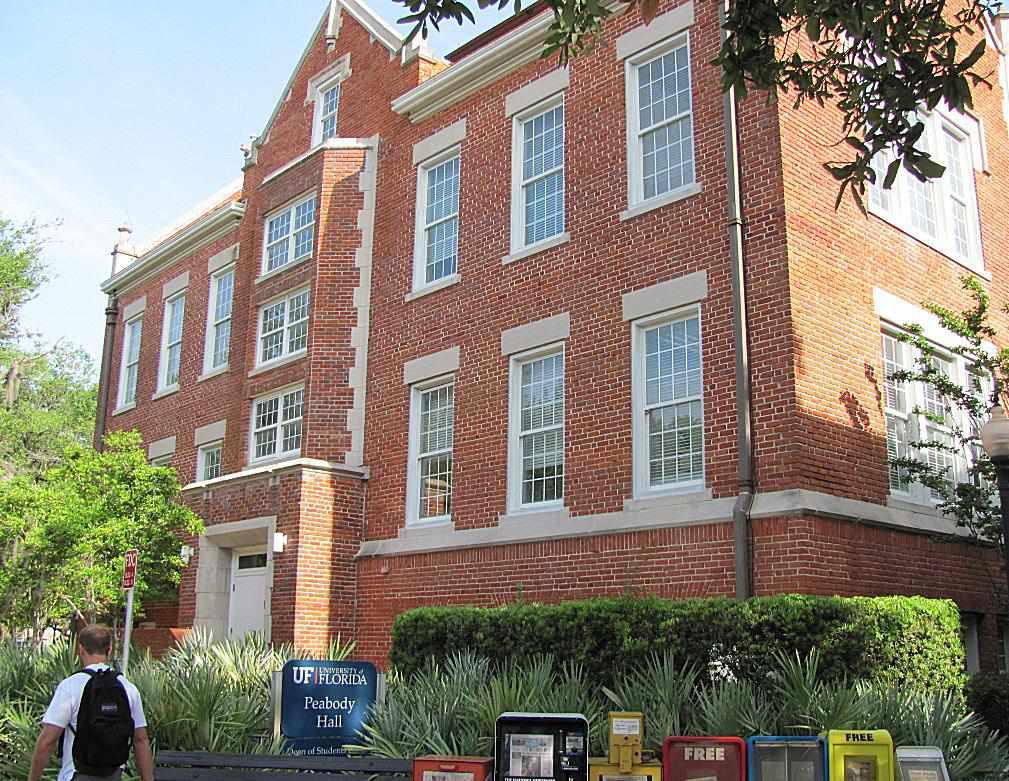 Peabody Hall at the University of Florida