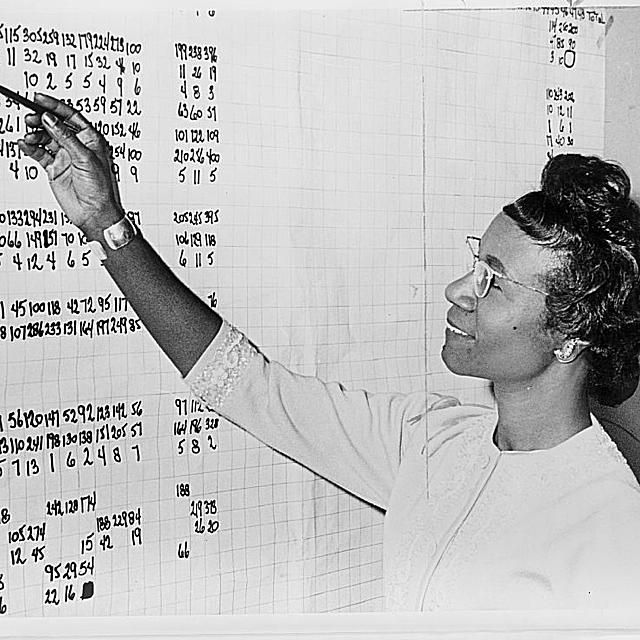 1972 Democratic presidential candidate Shirley Chisholm.