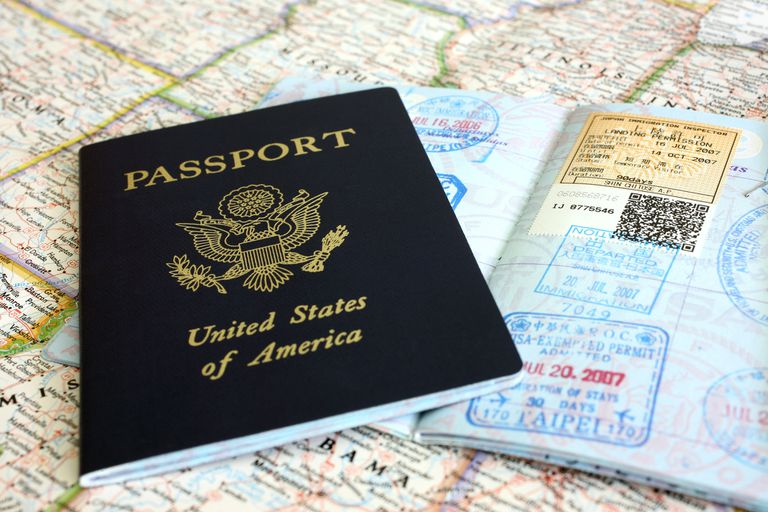 Passport and Visa Stamps