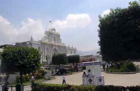 Antigua, Guatemala Central Plaza