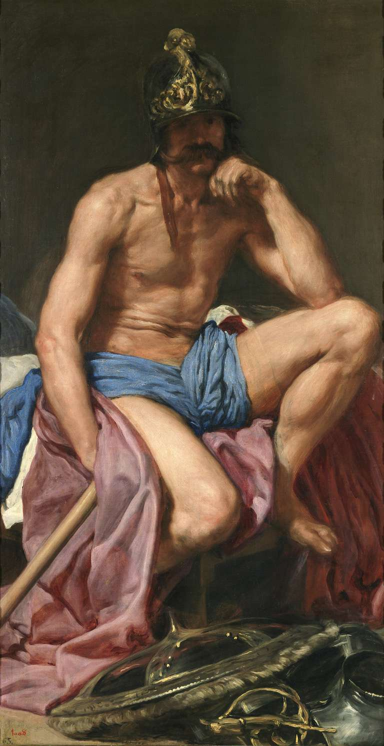 Mars Resting painting by Diego Velázquez