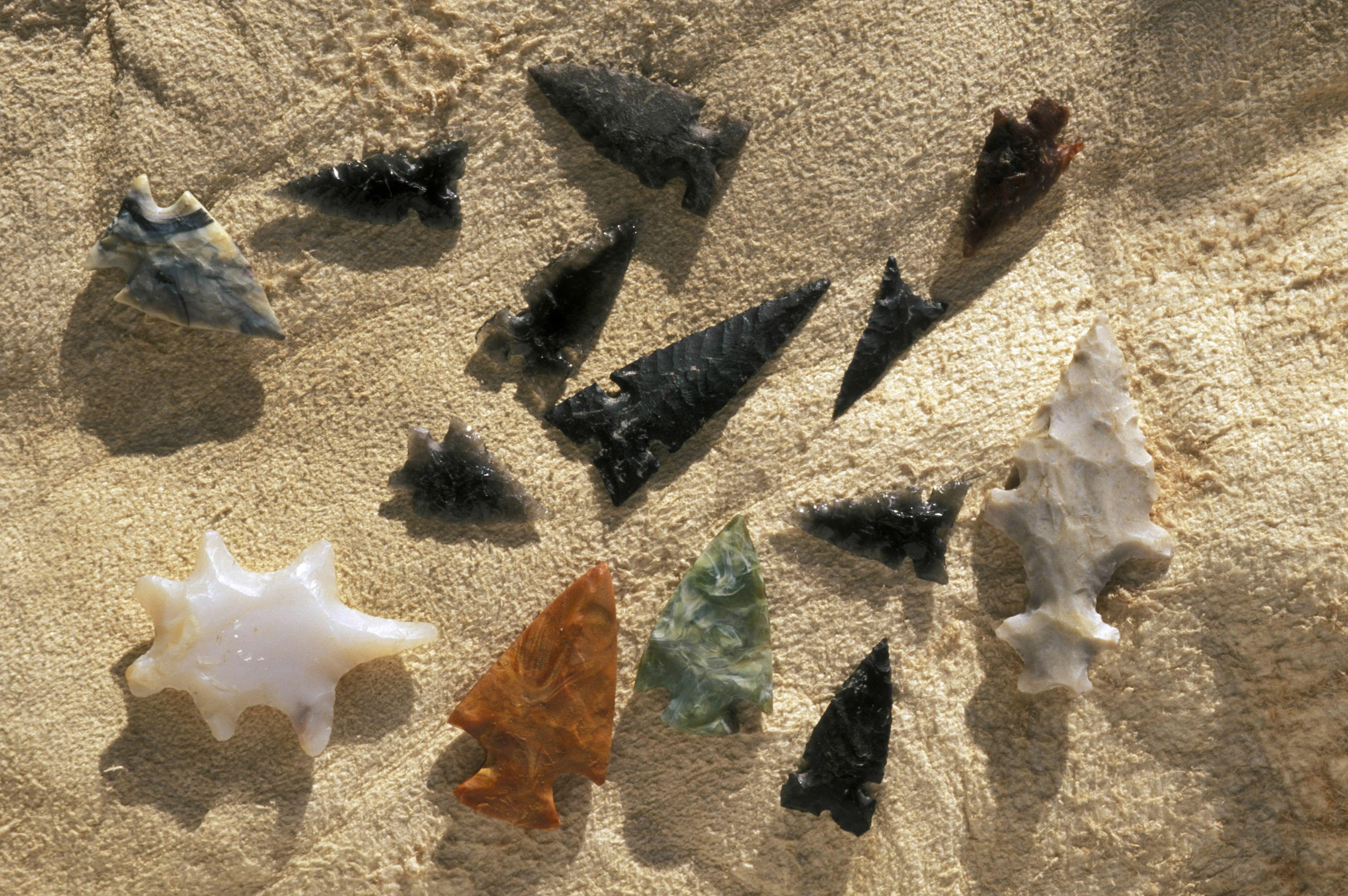 Stone Arrowheads