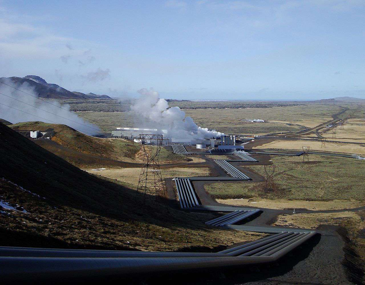 gesyers and geothermal heat