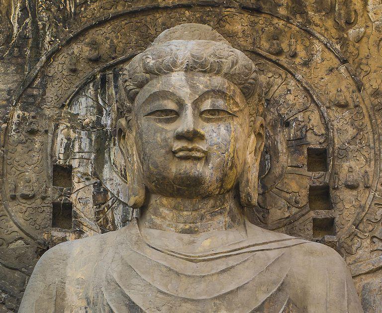 The Vairocana Buddha of Longmen Grottoes, China