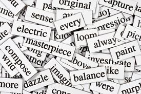 A jumble of words