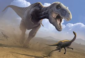 The organisms that formed petroleum lived long before the dinosaurs walked the earth.