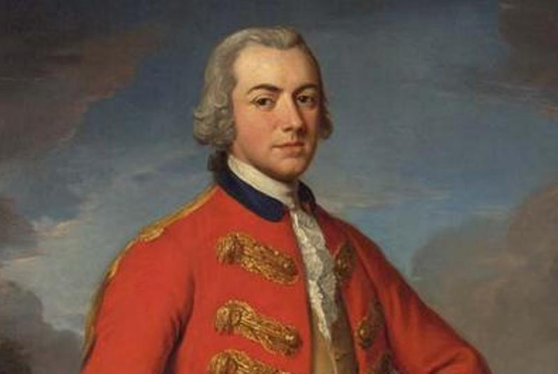 Biographie de Henry Clinton, général britannique dans la révolution  américaine