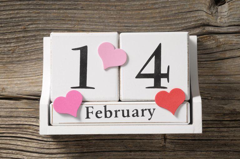 14 february Valentine's day
