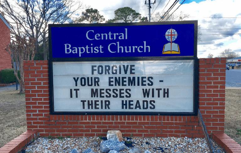 church sermons funny