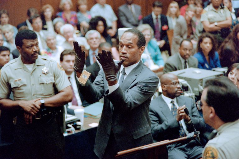 O.J. Simpson trial gloves