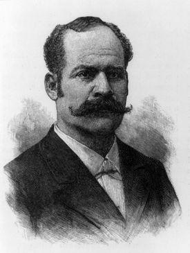 José Santos Zelaya in portrait