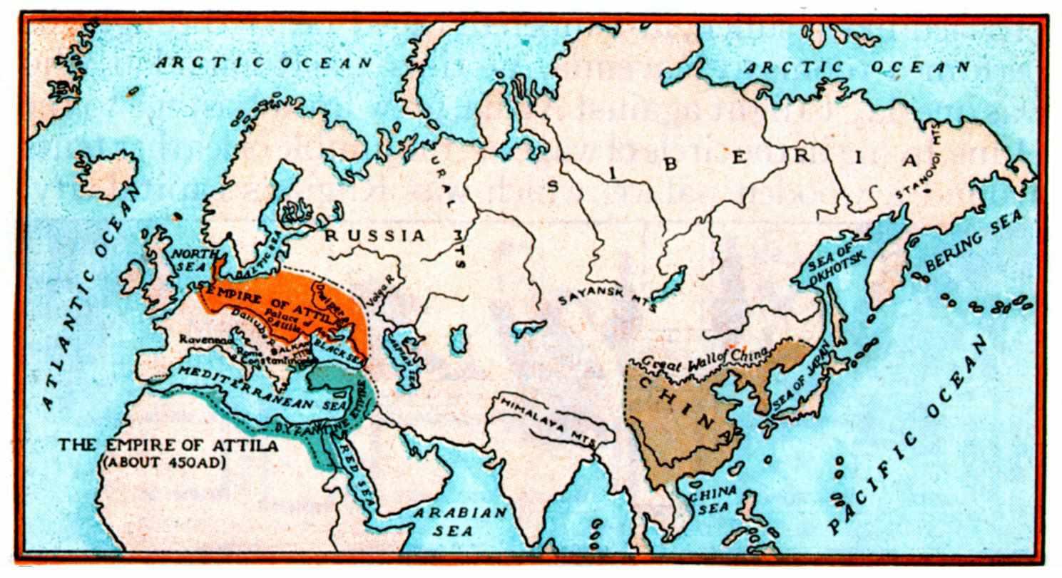 Attila Map