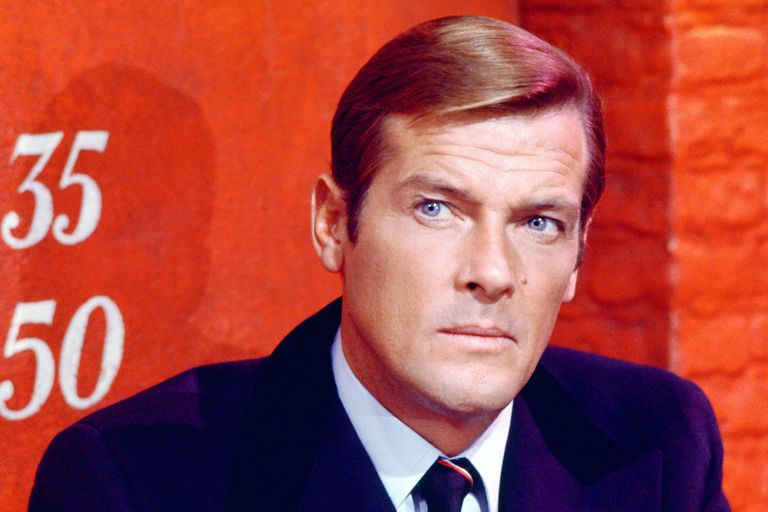 English actor Roger Moore stars in the James Bond film 'Live And Let Die', 1973.